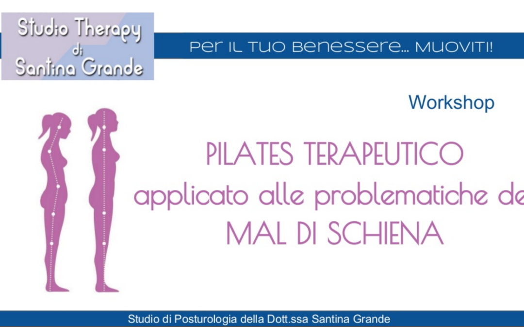 Pilates terapeutico applicato alle problematiche del mal di schiena – Workshop n° 2
