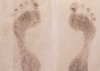 Podologo impronta piedi