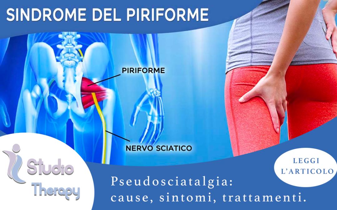 Sindrome del Piriforme meglio conosciuta come Pseudosciatalgia